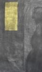 Utestengt, Format: 70x50 cm, Materiale: kull og pastell.